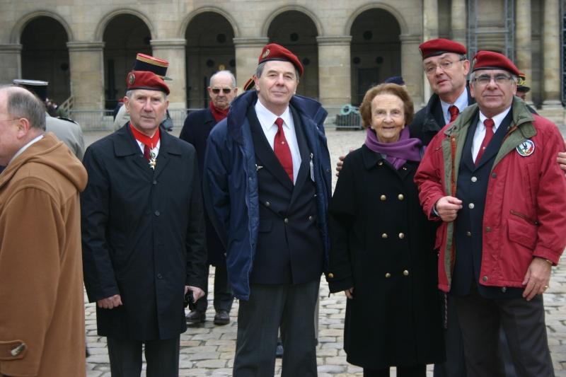 DEODAT du PUY-MONTBRUN colonel - Cérémonie INVALIDES 27 févier 2009 De_gal10
