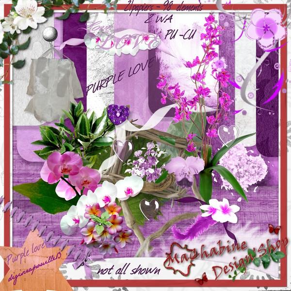 purple love Pv_mac10