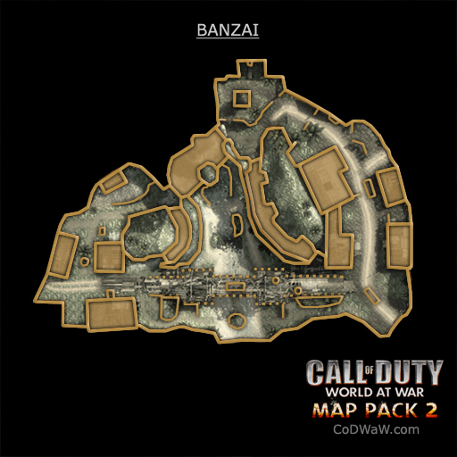 CoD 5 Map Pack 2 coming in June ! Codwaw16