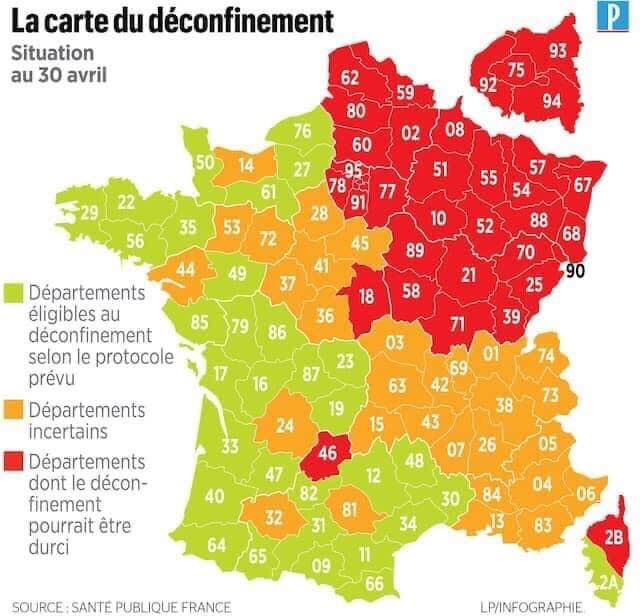 Le déconfinement Carte10