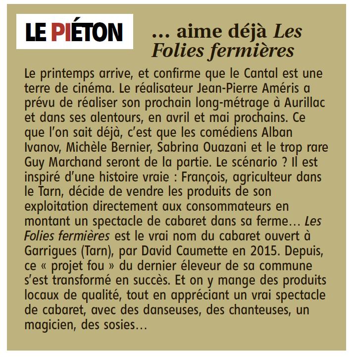 Cinéma : les films tournés dans le Cantal - Page 2 Cinema10