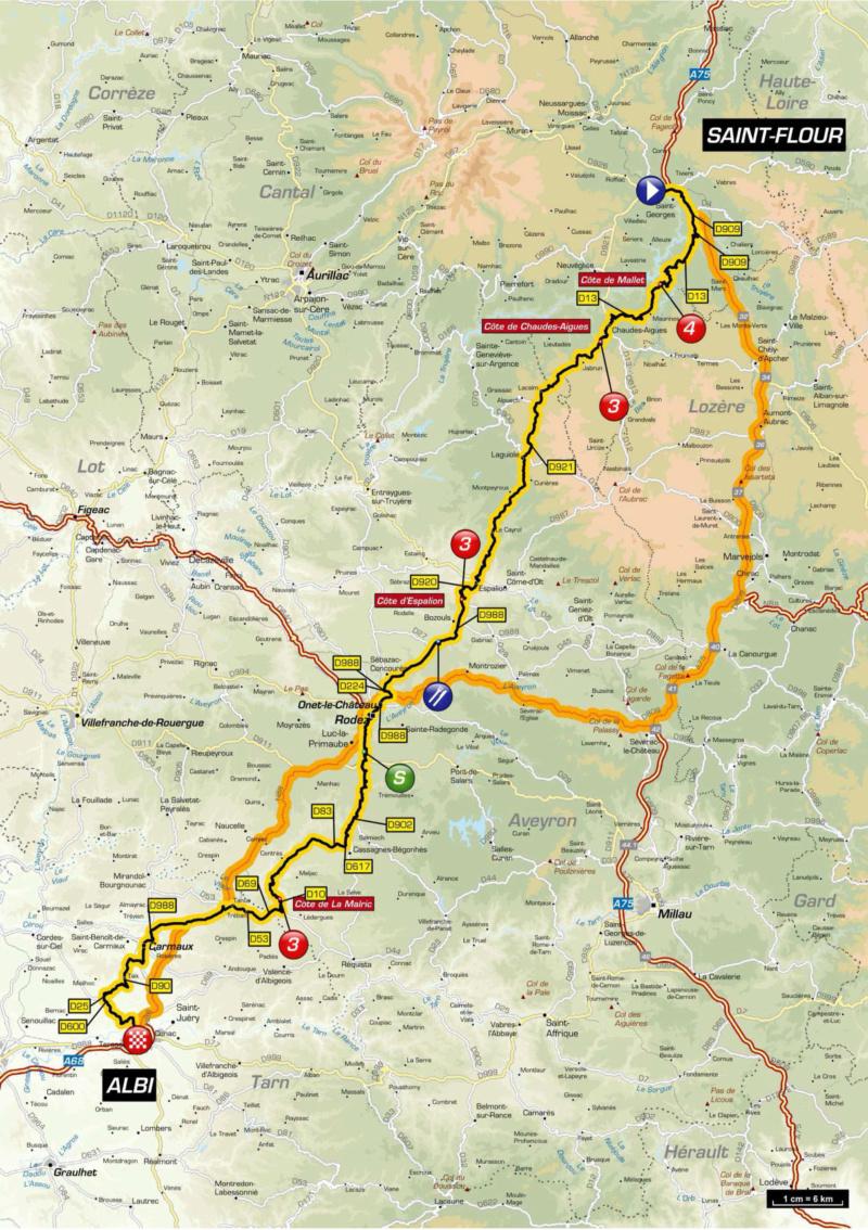Le Tour de France 2019 de retour dans le Cantal Tour10