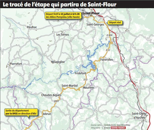 Le Tour de France 2019 de retour dans le Cantal Tour_410