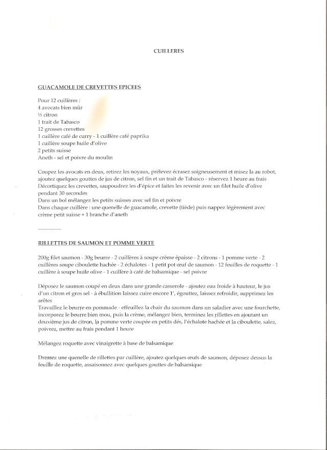 CUILLERES APERITIVES Numari10