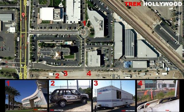 Visite d'un lieu de tournage de CSI : Miami 0811