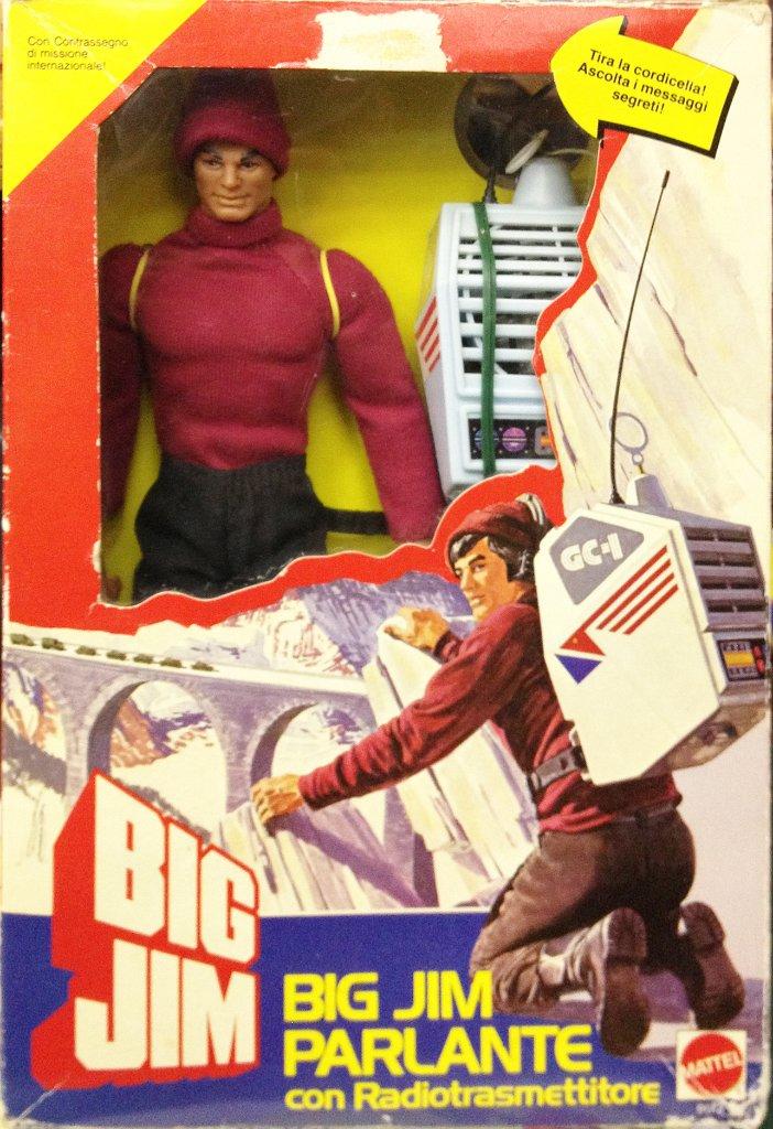 SCHEDA DI: BIG JIM PARLANTE N°9612/ANNO 1984 Box-210