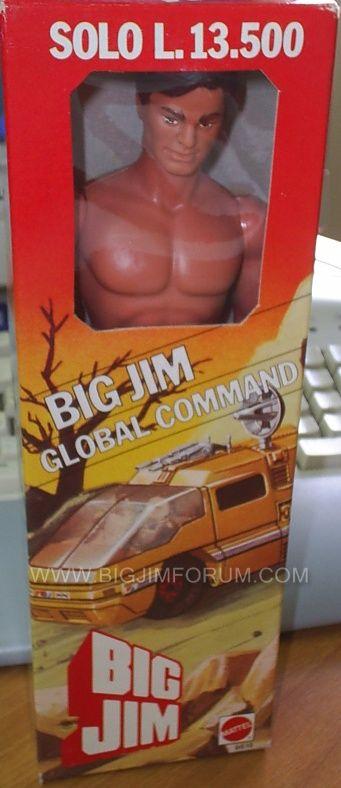 SCHEDA DI: GLOBAL COMMAND STANDARD N°9615/ANNO 1985 Box10