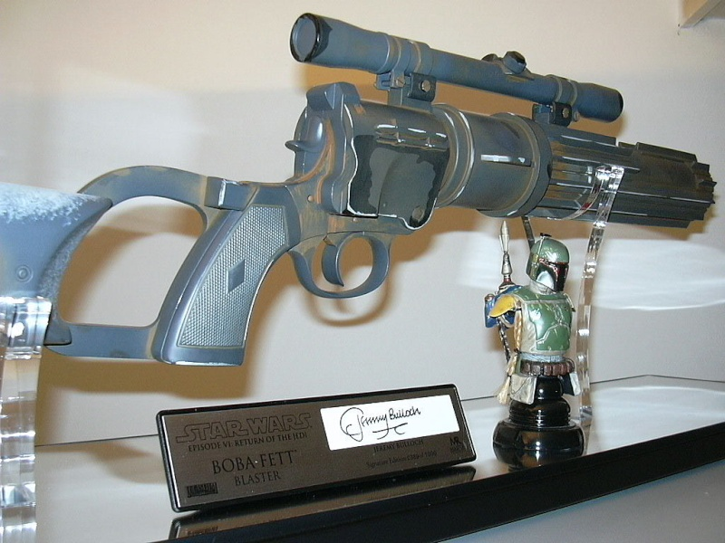 Master Replicas - Boba Fett Blaster Limited Edition LE - SE Blaste11