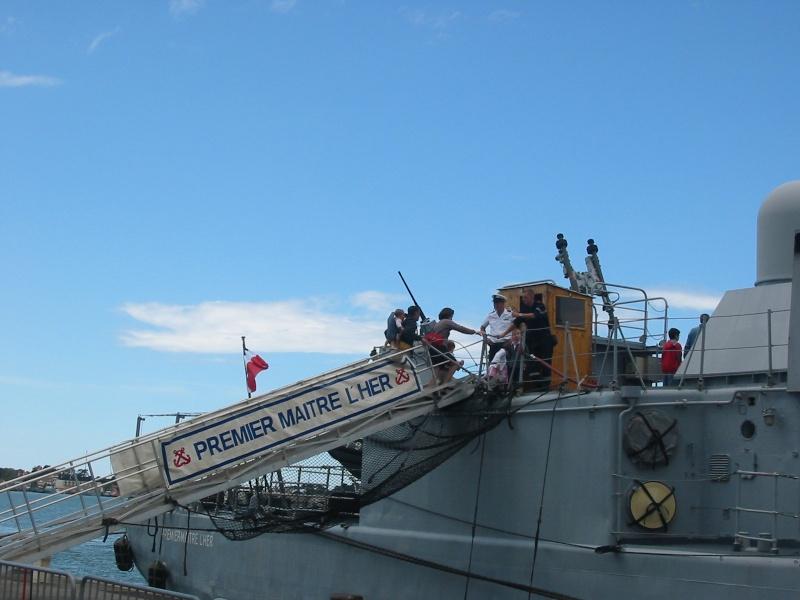 [VIE DES PORTS]  BAYONNE journée portes ouvertes de la base navale de l'Adour Img_3411
