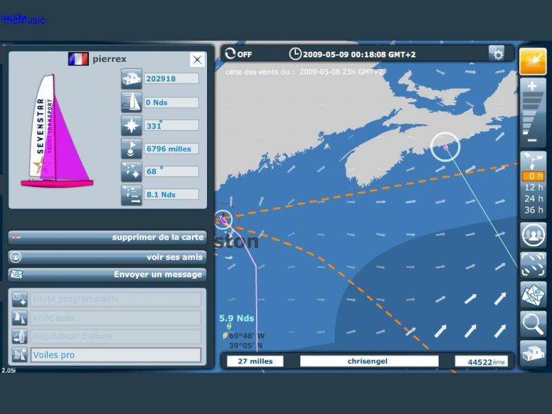 Course Volvo Ocean Race Pirrex10
