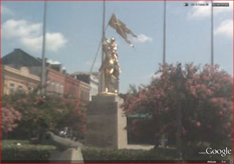 STREET VIEW : Joan Of Arc, New Orleans - USA Joan_o12