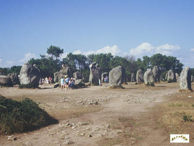 Mégalithes du Morbihan (Carnac) Kermar11
