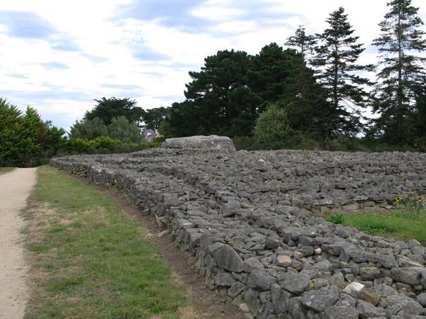 Mégalithes du Morbihan (Carnac) Tumulu13