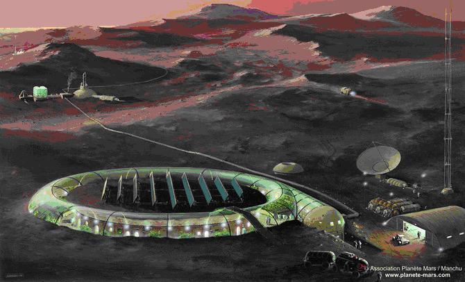 serre - Le système de l'eau pour la Serre Martienne? Mars_c10