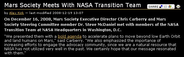 Michael Griffin quitte la NASA, Bolden pour le remplacer - Page 8 Marsso10