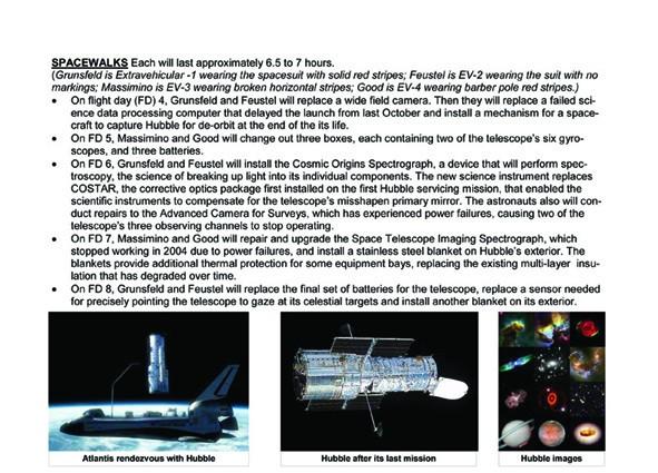 [STS-125] Atlantis : la mission Sts12510