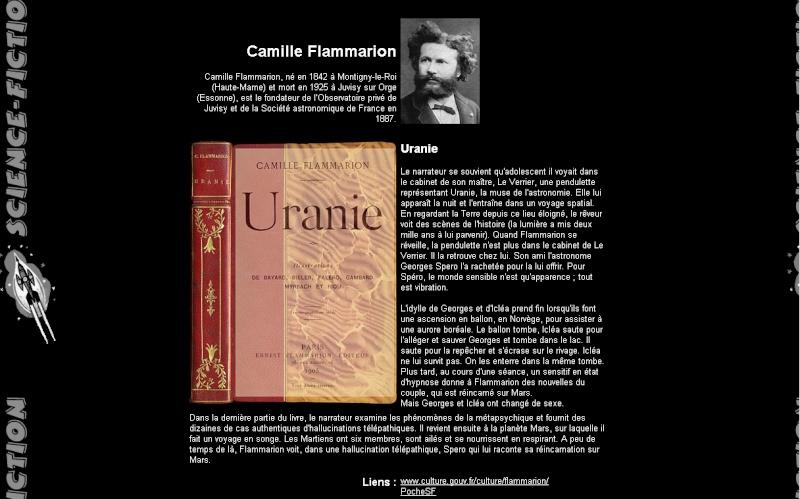 Littérature de science-fiction, passée et actuelle - Page 2 Uranie10