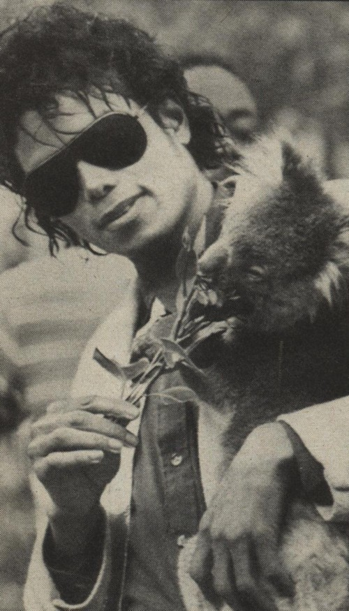 Collection MJ-Story : Michael et les animaux ^^ - Page 6 Mike_e10