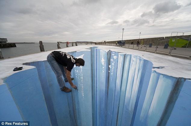 Straßenmalerei Clubma14