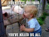 Zum Lachen? Zur Schweinegrippe.. Schwei13