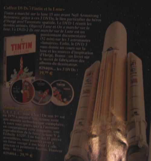 DVD Tintin et la Lune Img_0510