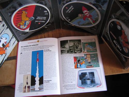 DVD Tintin et la Lune Img_0611