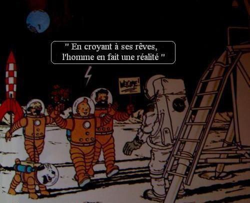 DVD Tintin et la Lune Tintin10