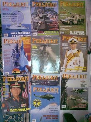 KOLEKSI MAJALAH PERAJURIT 1996 - 2002 26092011