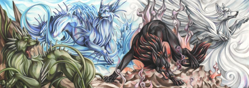 Ragnarok: God of the Elements Elemen11
