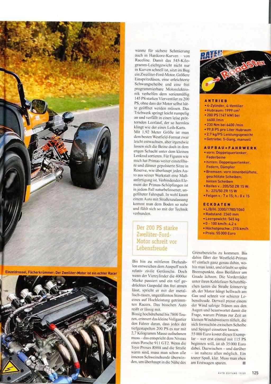 Autozeitung 10 April-09  -  Toller Bericht über Primas Motorsport Primas13