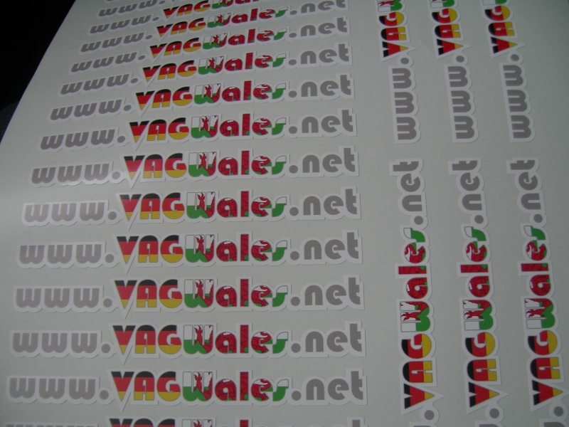 MORE!!! VAGWales Stickers!!! Sticke10