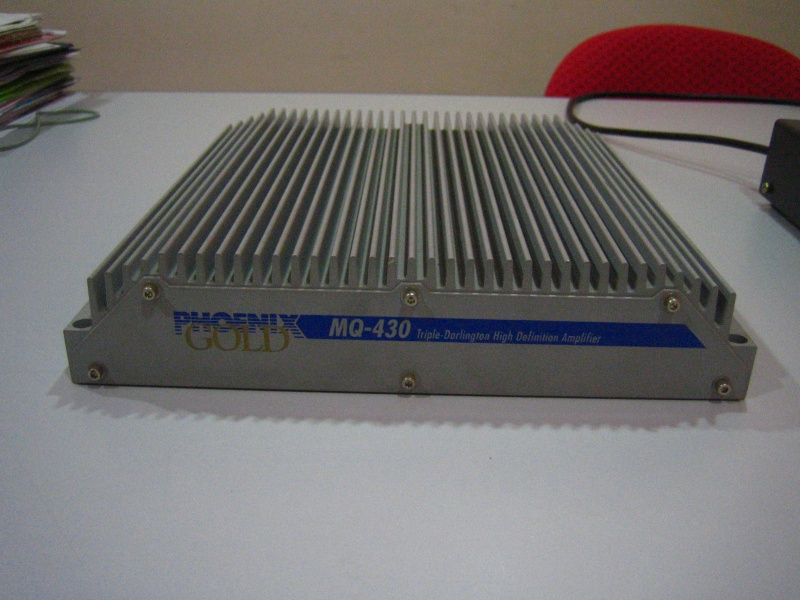 Phoenix Gold MQ-430 4 channel car amplifier (Used)SOLD Img_3920