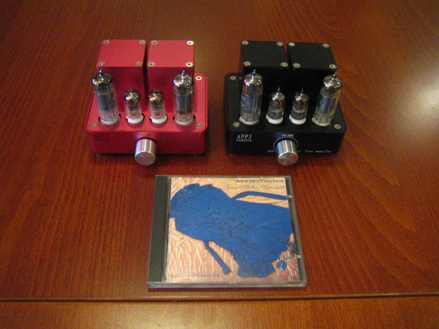APPJ (A.K.A. MiniWatt) S1 integrated amp (New)One SOLD, One LEFT for SALE Quad_a12