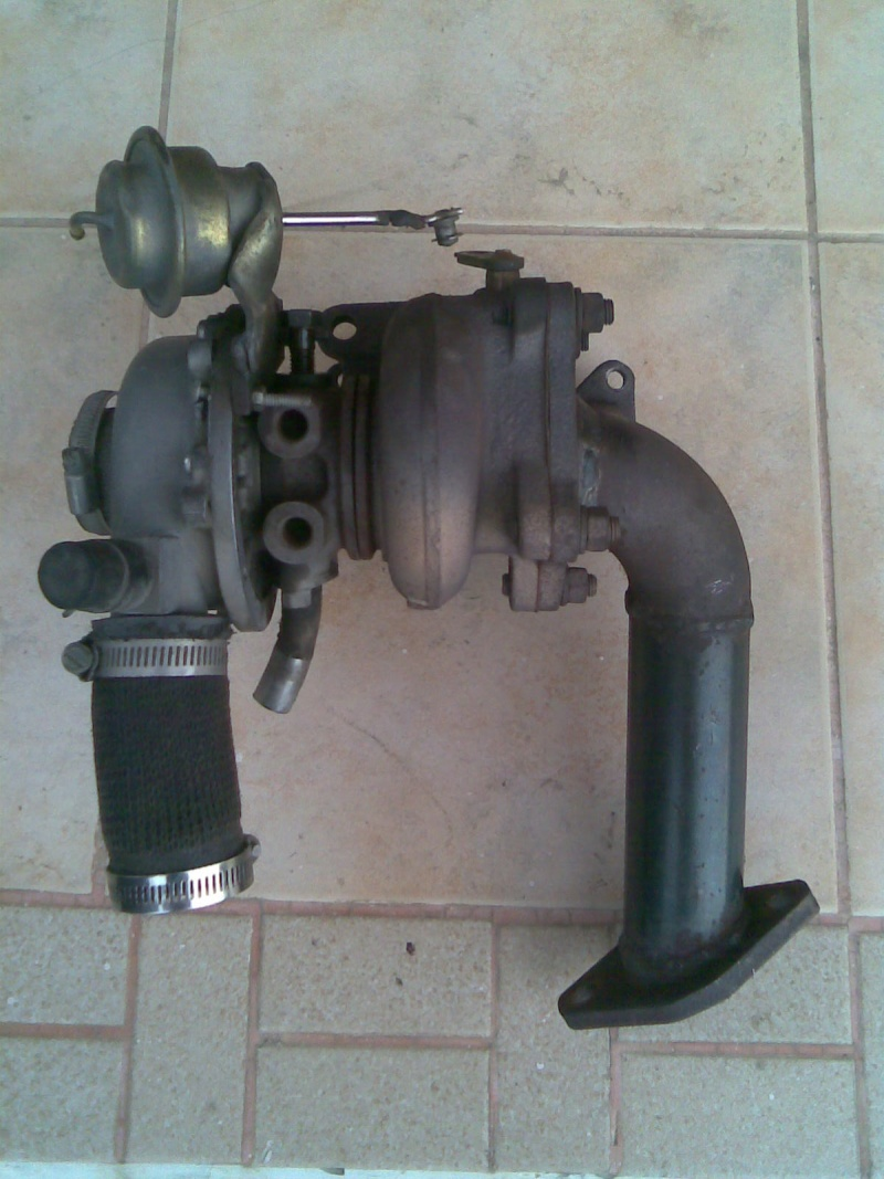 Turbo rhf4 with downpipe for kancil turbo Image023