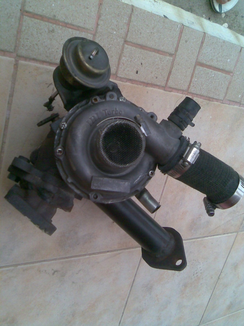 Turbo rhf4 with downpipe for kancil turbo Image024