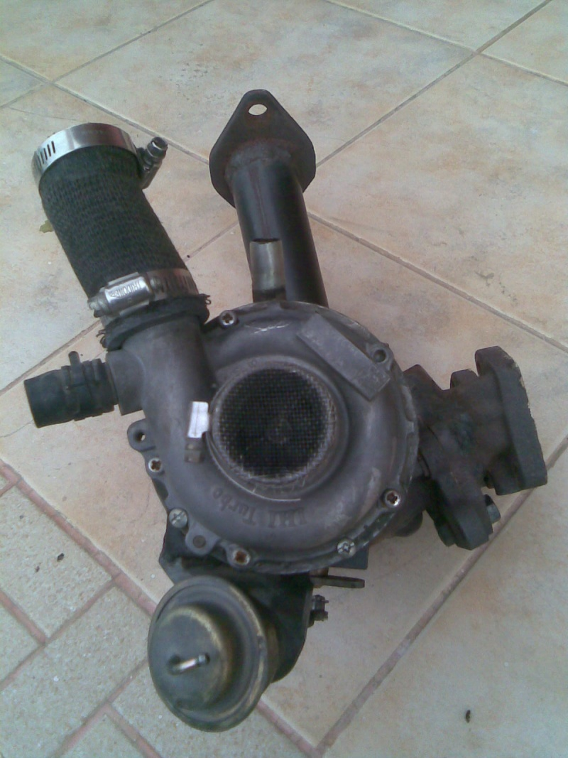 Turbo rhf4 with downpipe for kancil turbo Image025