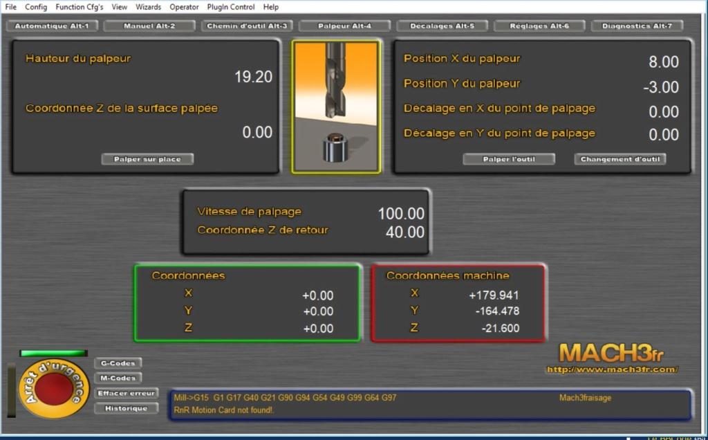 Macro de palpage et changement d'outils quand on pilote Mach3 par usb - Page 2 Captur10