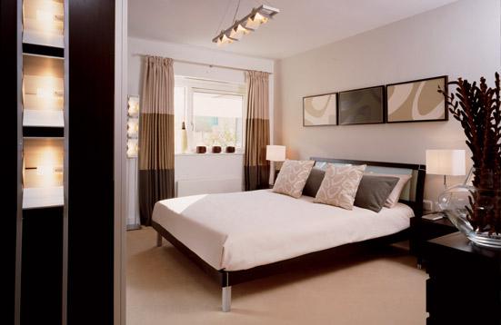 besoin idée pour couleur murs dans chambre avec mobiliers noir et blanc
