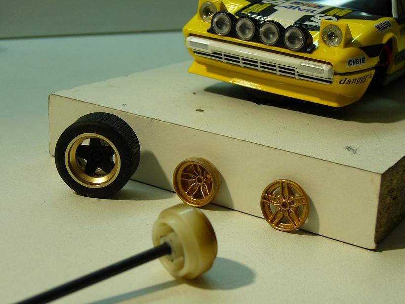 FERRARI 308 GTB RALLYE SCALEXTRIC Slot_159