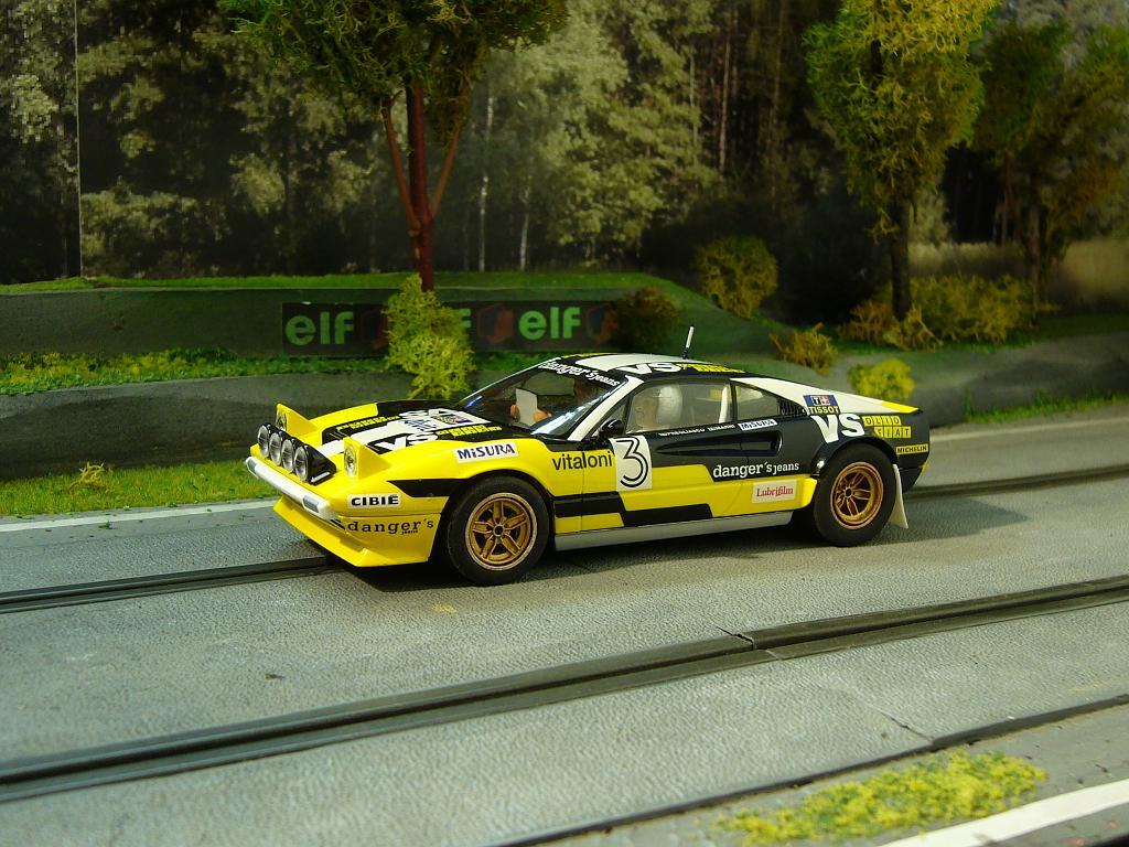 FERRARI 308 GTB RALLYE SCALEXTRIC Slot_227