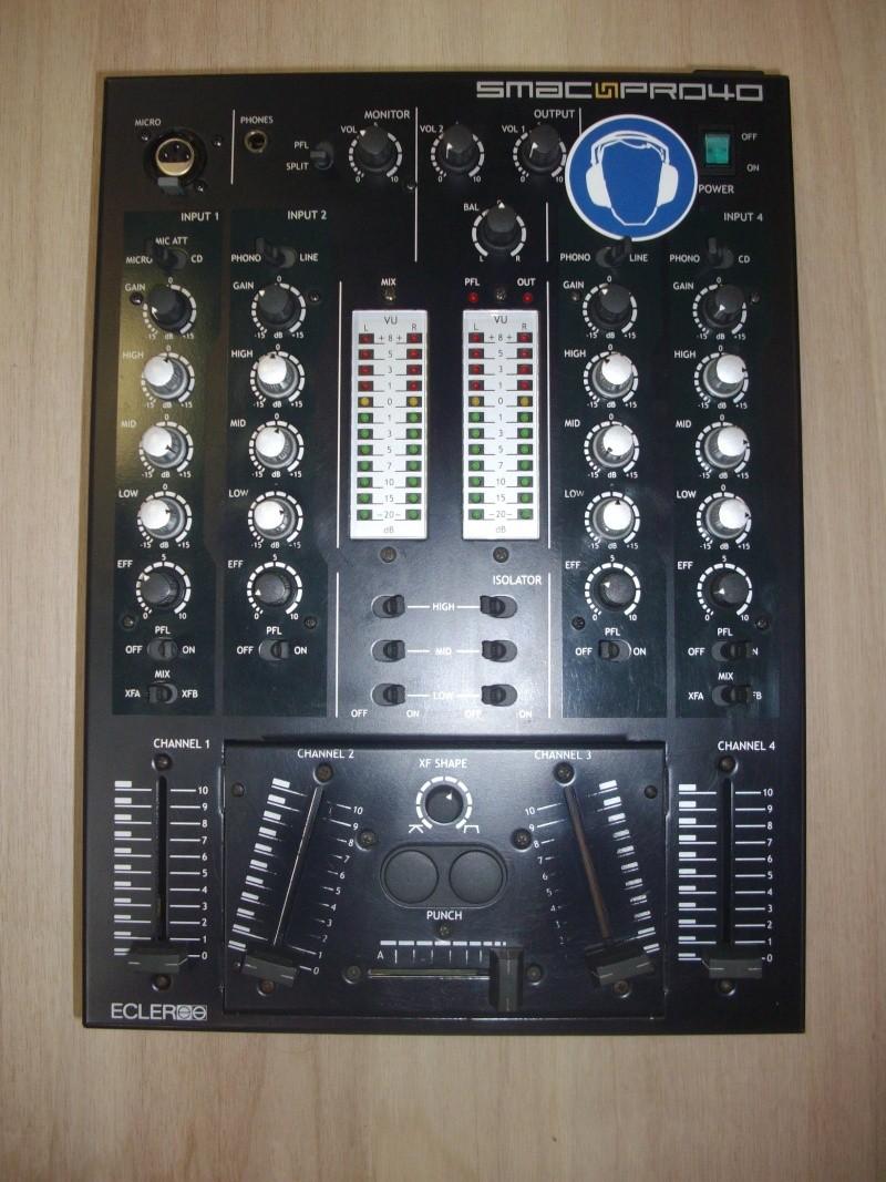 vend table ECLER SMAC PRO 40 Plaque10