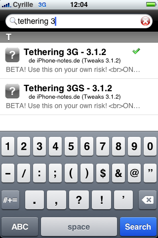 tuto : Tethering pour 3Get 3GS activation modem firmware 3.1.2 Img_0017