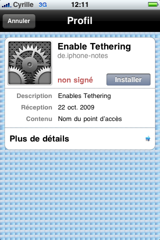 tuto : Tethering pour 3Get 3GS activation modem firmware 3.1.2 Img_0021