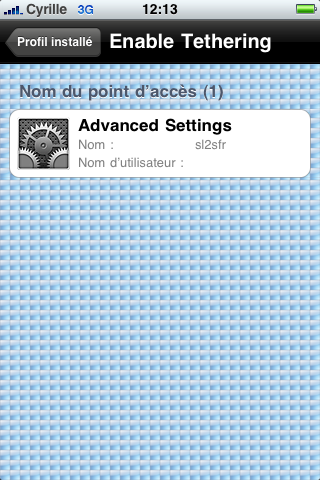 tuto : Tethering pour 3Get 3GS activation modem firmware 3.1.2 Img_0022