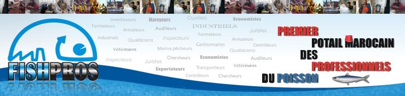 FISHPROS: Portail du Secteur de la Pêche au Maroc