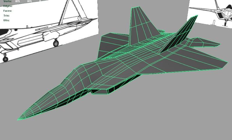 [W.I.P.] F22 Raptor Screen11
