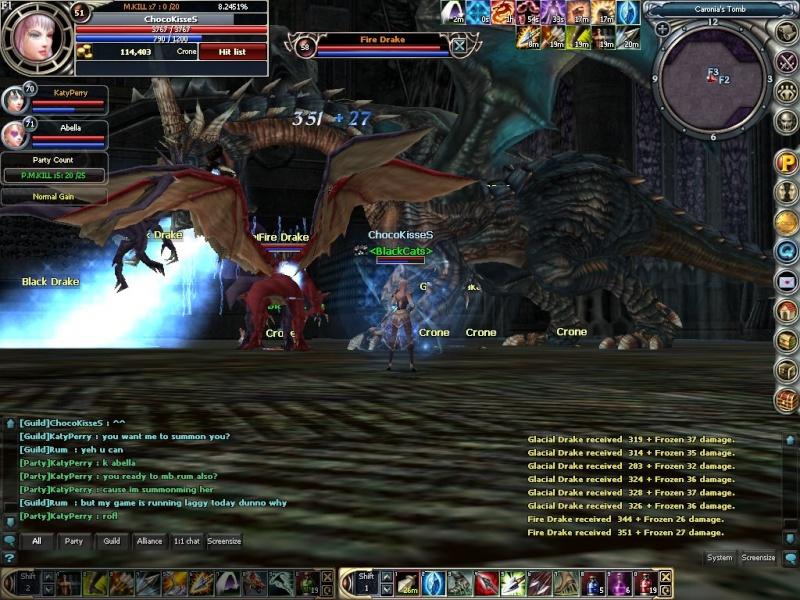 Boss hunting.. rawr~~ Rohan014