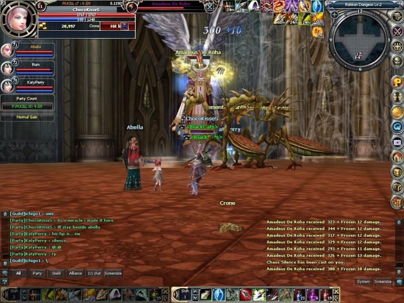 Boss hunting.. rawr~~ Rohan016
