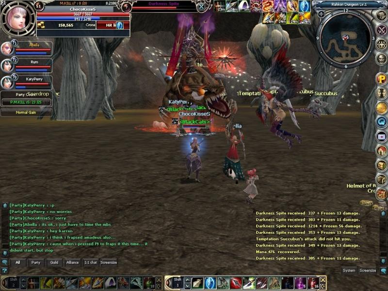 Boss hunting.. rawr~~ Rohan022