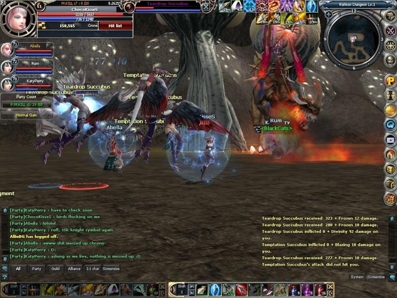 Boss hunting.. rawr~~ Rohan026